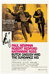 Butch Cassidy and the Sundance Kid Original US One Sheet