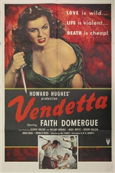 Vendetta Original US One Sheet
