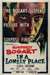 In A Lonely Place Original US One Sheet