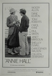 Annie Hall Original US One Sheet