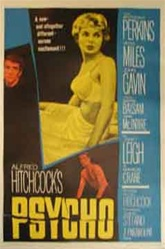 Psycho Original US One Sheet