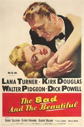 The Bad and the Beautiful Original US One Sheet