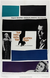 The Man With The Golden Arm Original US One Sheet