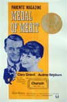Charade Medal of Merit Original US One Sheet