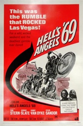 Hell's Angels 69 Original US One Sheet