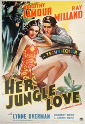 Her Jungle Love Original US One Sheet