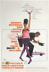 How to Steal a Million Original US One Sheet