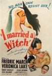 I Married a Witch Original US One Sheet