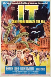 It Came From Beneath the Sea Original US One Sheet