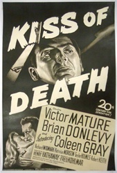 Kiss of Death Original US One Sheet