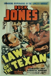 Law of the Texan US One Sheet