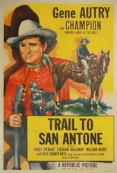Trail to San Antone US One Sheet