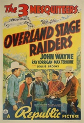 Overland Stage Raiders US One Sheet