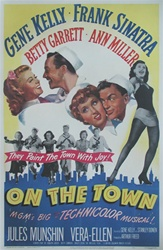 On the Town US One Sheet