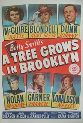 Trees Grow in Brooklyn US One Sheet