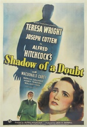 Shadow of a Doubt US One Sheet