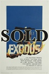 Exodus US Original One Sheet