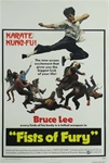 Fists of Fury US Original One Sheet