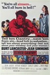 Elmer Gantry US Original One Sheet