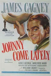 Johnny Come Lately US Original One Sheet