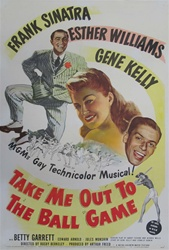 Take Me Out to the Ball Game US Original One Sheet