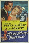 There's Always Tomorrow US Original One Sheet