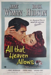 All That Heaven Allows US Original One Sheet