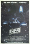Star Wars Empire Strikes Back US Original Advance One Sheet