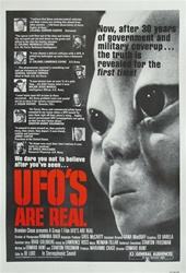 UFO's Are Real US Original One Sheet