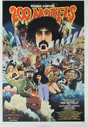 200 Motels US Original One Sheet