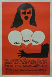 One Two Three Original US One Sheet