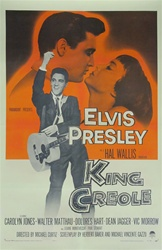 King Creole Original US One Sheet