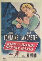 Kiss the Blood off My Hands Original US One Sheet