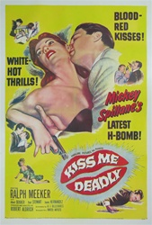 Kiss Me Deadly Original US One Sheet