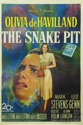 The Snake Pit Original US One Sheet