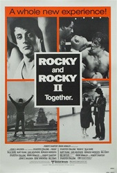 Rocky and Rocky II Original US One Sheet