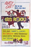 Let's Rock Original US One Sheet