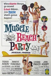 Muscle Beach Party Original US One Sheet