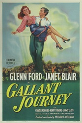 Gallant Journey Original US One Sheet