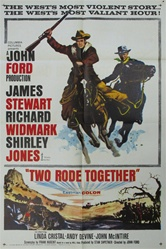 Two Rode Together Original US One Sheet