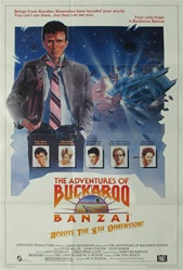 Buckaroo Banzai Original US One Sheet