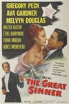 The Great Sinner Original US One Sheet