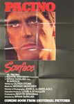 Scarface Original US One Sheet Advance