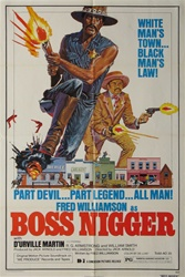 Boss Nigger Original US One Sheet