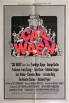 Car Wash Original US One Sheet