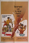 Hot Potato And Enter The Dragon Combo Original US One Sheet