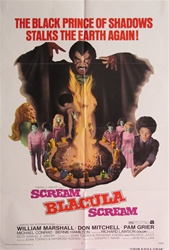 Scream Blacula Scream Original US One Sheet