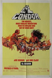 El Condor Original US One Sheet