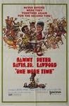 One More Time Original US One Sheet