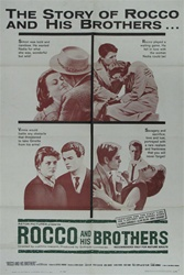 Rocco And His Brothers Original US One Sheet
